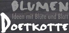 Logo: Blumen Doetkotte